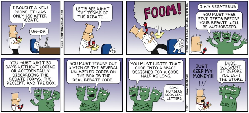 Dilbert Rebate comic