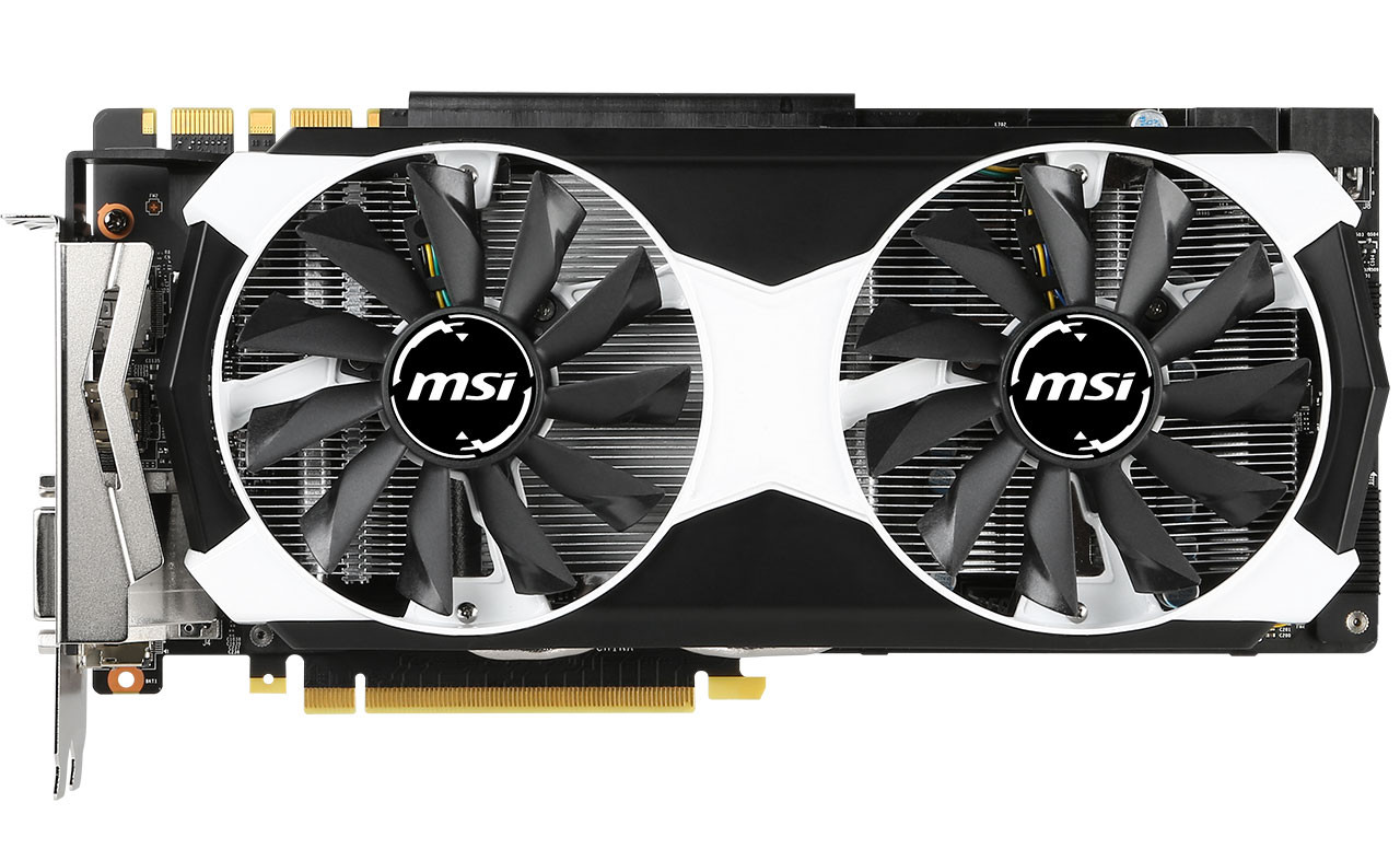 MSI has white GTX 980s?!