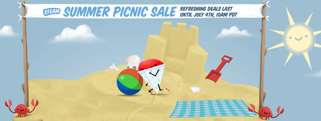 steam picnic sale