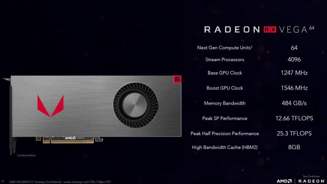 Amd Rx Vega 64 Vs Gtx 1080 Gtx 1080 Ti Logical Increments Blog