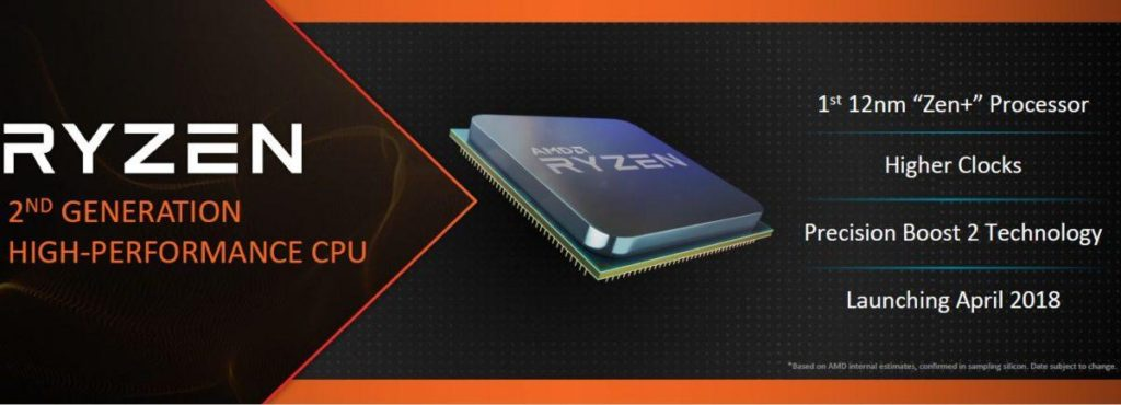 CES 2018 AMD Zen+