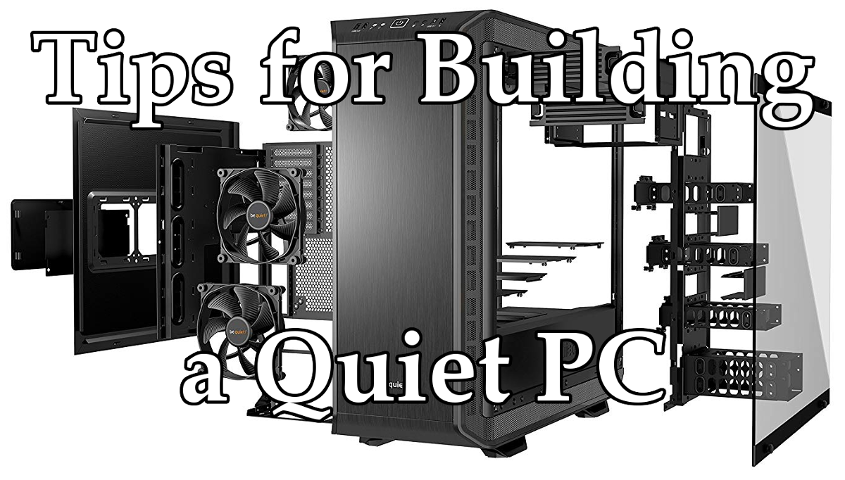 be quiet! Dark Base Pro 900 quiet/silent airflow cover image