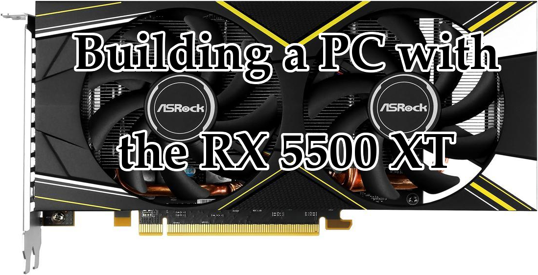RX 5500 XT header