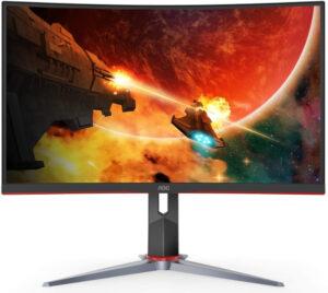 Monitor gaming curbat AOC C32G2